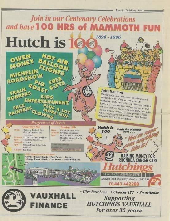 100 Years of Hutchings