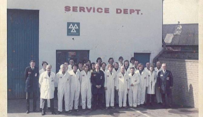 1970s Service Department