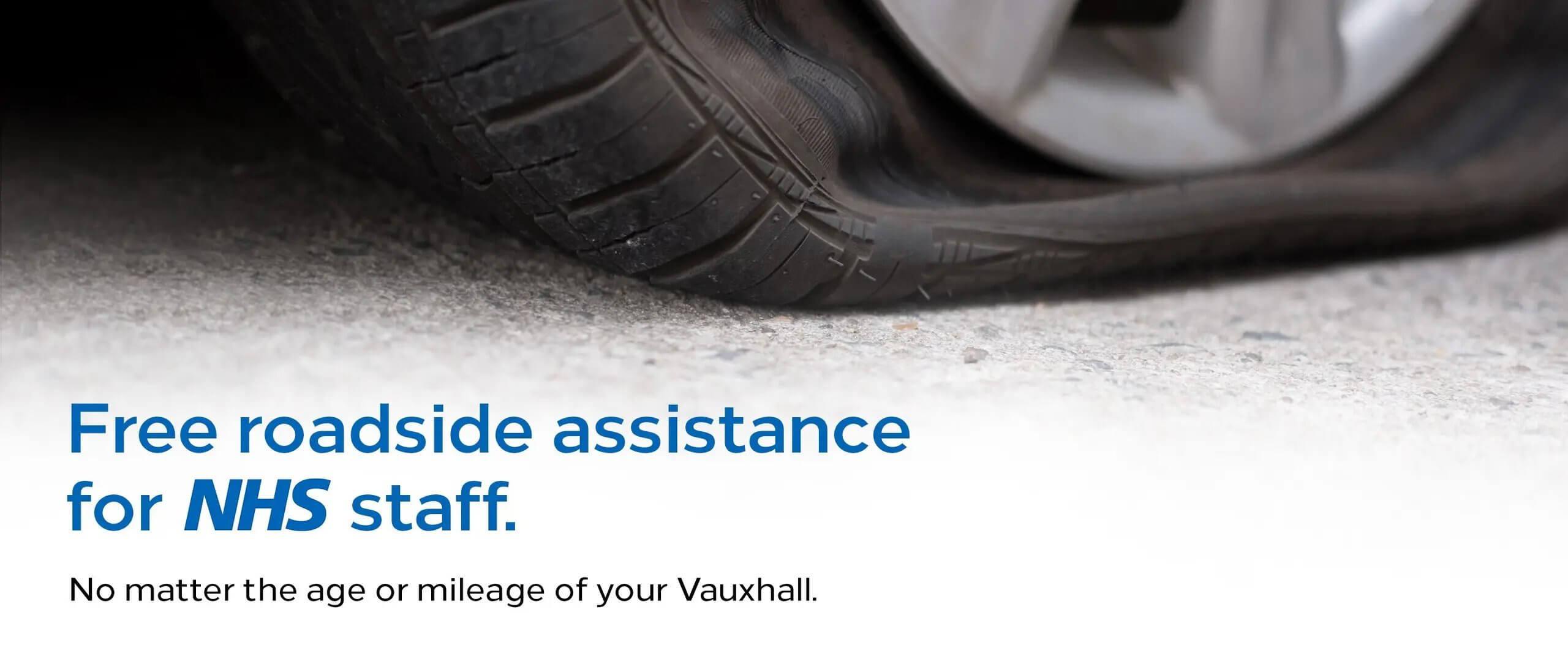 Free roadside assistance for NHS staff