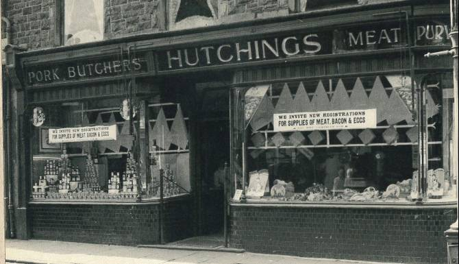 Hutchings first shop