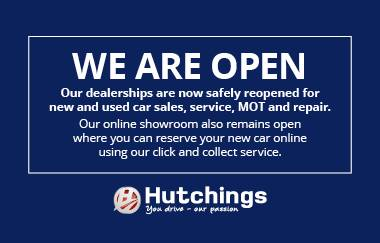 Our dealerships are safely open