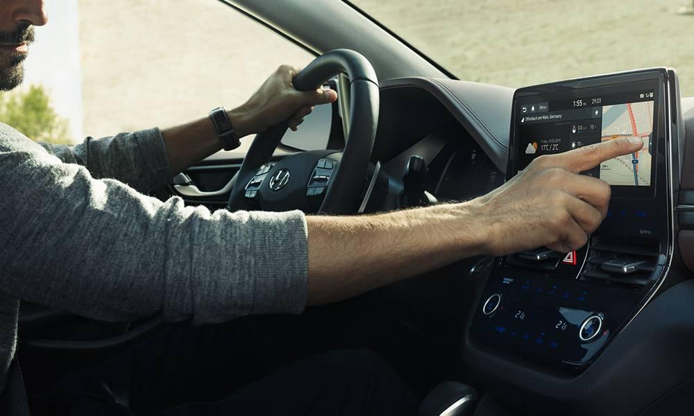 Hyundai - IONIQ Hybrid- Interior