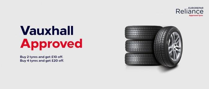vauxhall approved tyres