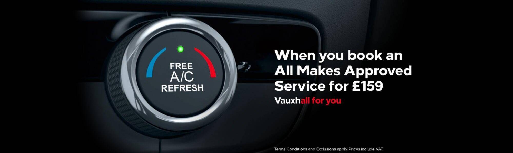 Vauxhall Free Air-Con Refresh